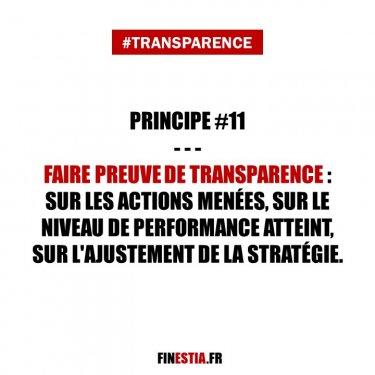 Principe #11