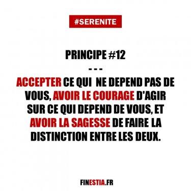 Principe #12